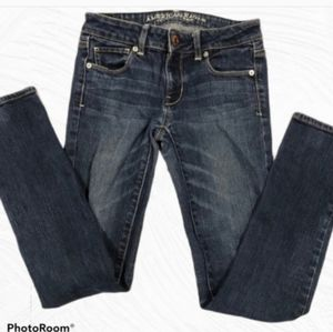 American eagle outfitter jeans skinny stretch 2